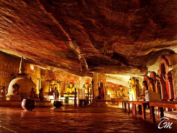 Dambulla Golden Rock Temple
